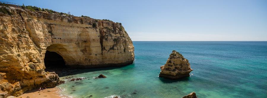 Ruta de los Acantilados en el algarve portugués