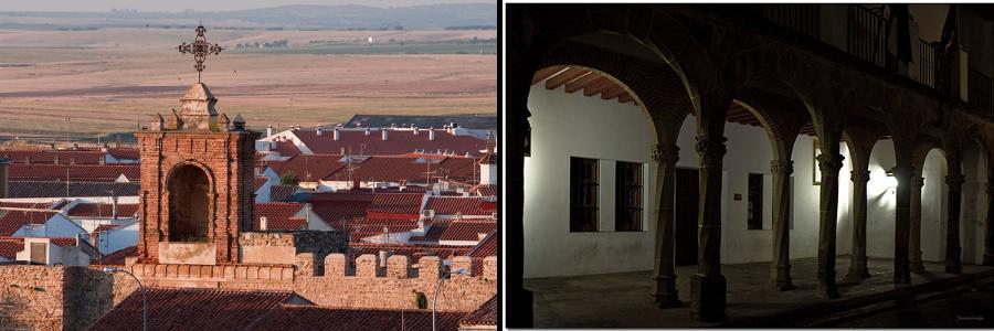 Puerta Montemolin y Palacio Zapata