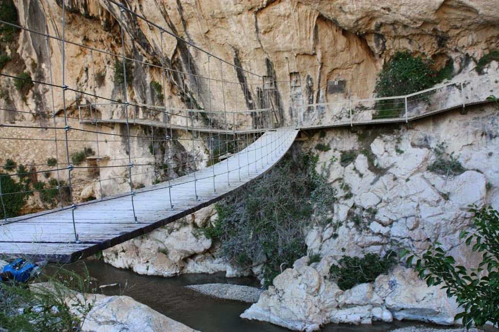 Ruta Gollizno - Puente colgante