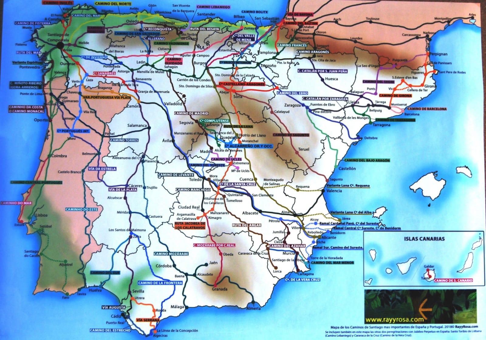 Camino De Santiago De La Frontera Justificación Etapas Y Tracks Astoll Asociación De Senderismo Tomillo Y Orégano De Llerena
